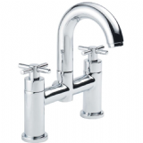 Pegler Xia Cross Top 2 Tap Hole Bath Filler Tap - 584K8015